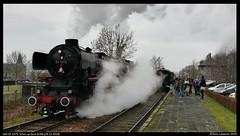 SSN 01 1075, Schin op Geul - 29-12-2018 (Teun Lukassen) Tags: stoomtrein 01 1075 011075 ssn schin op geul simpelveld zlsm kerst 2018 treinen trains züge
