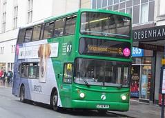 Bristol (Andrew Stopford) Tags: lt52wvz volvo b7tl alexander alx400 first bristol transbus