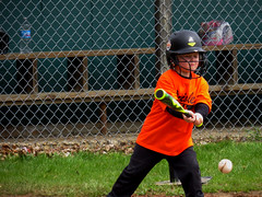 IMG_9137 (kennethkonica) Tags: kids children family face canonpowershot canon indianapolis indiana indy midwest usa america hoosier random mood people person color eyes atmosphere littleleague baseball helmet ball game orange