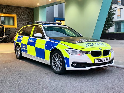 Cheshire police bmw