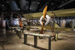 Aerospace Bristol - Bristol Scout and F2.B (phil_king) Tags: aircraft aeroplanes aviation museum bristol aerospace biplanes ww1 military display replica england uk filton west country
