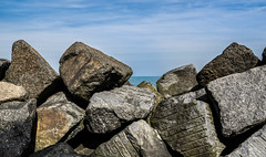 Seaham Harbour. (CWhatPhotos) Tags: cwhatphotos photographs photograph pics pictures pic picture image images foto fotos photography that have which with contain sunderland tyne wear north east england uk seaham harbour theharbour beach sea sky blue coast county durham olympus omd em1 mkl
