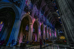 National Cathedral interior (Jim Ned 2019 DC Trip) Tags: fullspectrum hdr nationalcathedral hotfilter