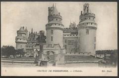 Chateau de Pierrefonds (tico_manudo) Tags: châteaudepierrefonds castillodeperrefonds cartespostalesanciennes cartepostale cartespostalesanciennesdelafrance