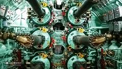 PN Hangor's Engine Bay (soash.) Tags: machines submarine enginebay huge texture