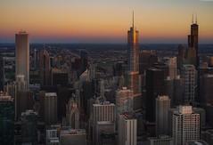 A sunset (karinavera) Tags: city longexposure night photography cityscape urban ilcea7m2 sunset