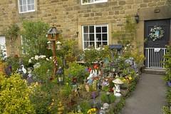 KitschenGarden (Tony Tooth) Tags: nikon d7100 sigma 1750mm cottage house plaguehouse kitsch garden eyam derbyshire