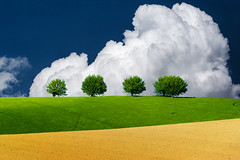 Italian Landscape (emanuelezallocco) Tags: italy marche landscape hills clouds trees alberi colline paesaggio spring primavera colori nature natura best shot photography image pentax ricoh k3ii tamron