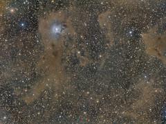 NGC 7023 Nébuleuse de l'Iris (Uwe Kamin Photography) Tags: ciel ic ngc nocturne espace messier astronomy astronomie dark galaxies nébuleuse