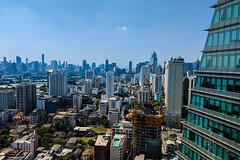 Bangkok Skyline (hiroshiken) Tags: 曼谷 曼谷都會區 泰國 bangkok thailand skyline skyscraper view