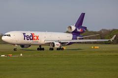 N529FE // FedEx // MD-11F // Stansted (SimonNicholls27) Tags: n529fe md11f fedex stansted egss stn fed ex md11 aircraft aviation aeroplane