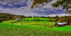 Jenne Farm (Chad Straw Images) Tags: vermont travel travelphotography green grass colors country rural blue newengland farm farmhouse farmland barn red countryside nikond610 nikon fall autumn beautiful landscape landscapephotography leaves trees amazing