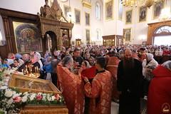 093. Божественная литургия в Успенском соборе 01.05.2019