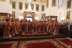 021. Божественная литургия в Успенском соборе 01.05.2019