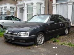 1991 Vauxhall Carlton 2.0i CDX Auto (Neil's classics) Tags: vehicle 1991 vauxhall carlton 20i cdx abandoned car