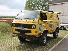 1985 Volkswagen Transporter Syncro Rallye (quicksilver coaches) Tags: volkswagen vw transporter syncro rallye rebel c752cru bicesterheritage sundayscramble bicester