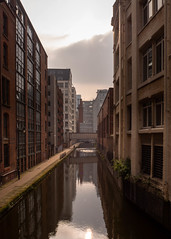 Canal Reflections (JacobRKennedy) Tags: olympus omdem10 omdem10mkii manchester mcr mcruk architecture reflection reflections canal