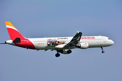 "(ORY) IBERIA  Airbus A321-200 EC-IJN ""Cantabria livery""Landing runway 06 from Madrid (dadie92) Tags: orly lfop iberia airbus cantabria a321 a321200 ecijn speciallivery airplane aircraft spotting landing madrid nikon d7100 tamron sigma danieldanel"