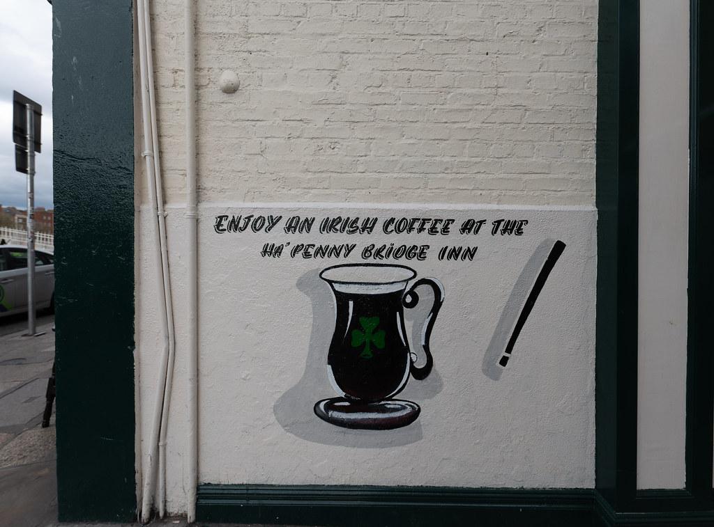 ENJOY AN IRISH COFFEE [NEAR THE HALFPENNY BRIDGE]-152097