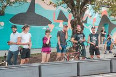 viva-vernonadanac-20170823-2 (VIVA_Vancouver) Tags: vivavancouver publicspace cityofvancouver pingpong freestylefocusgroup fridafrank adanacvernonplaza tacticalurbanism unionadanaccorridor bikeroute adanacbikeway cargobike