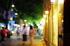 2105/1957 (june1777) Tags: snap street seoul night light bokeh canon eos 5d kyocera contax carl zess planar 85mm f14 1600 clear jongro