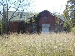 113. The abandoned school in Pawnee Station, a Bourbon County Ghost Town, 10-21-18 (leverich1991) Tags: exploring kansas 2018 pawnee station bourbon anna school