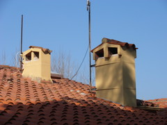 Cotlliure (visol) Tags: xemeneies xememeie xemeneie tximinia chimneys cheminées camino chamine chimeneas tejados teulades tejas tejado teulas barbacana