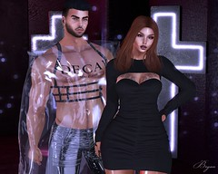 Sinners (Bryan Trend) Tags: head catwa catya body maitreya hair sintiklia lelutka guy belleza jake group gift vanilla bae dress accesory stealthic fakeicon cape freya slink hourglass n21 event riot harness tanktop pants men male female woman new blog post blogger model sl secondlife second life
