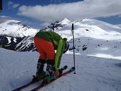 Last Run ..., (Mr. Happy Face - Peace :)) Tags: sunshine ski rockies snowcaps canada candid spring mountains albertabound art2019