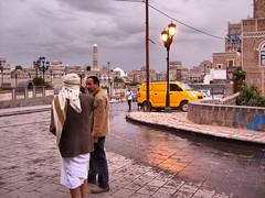 Yemen, 2007 (denismartin) Tags: yemen yemeni city sanaa denismartin travel streetphotography postalservice people