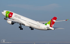 TAP Air Portugal (Guilherme_Martinez) Tags: aircraft airbus airbuslovers sky summer sunset sun planespotting passion portugal follow followme family lisbon love lisboa lovers like