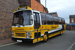 Stevensons 14 UVT14X (Will Swain) Tags: gladstone pottery museum during pmt running day 21st october 2018 preserved heritage bus buses transport travel uk britain vehicle vehicles county country england english stoke trent stokeontrent stevensons 14 uvt14x