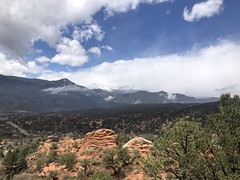 Garden of the Gods in Colorado Springs, Colorado (Hazboy) Tags: snow mountain rock 2019 may gods garden springs colorado hazboy1 hazboy