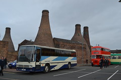 Gange's Coaches 4817F (Will Swain) Tags: gladstone pottery museum during pmt running day 21st october 2018 stokeontrent stoke trent potteries preserved heritage bus buses transport travel uk britain vehicle vehicles county country england english ganges coaches 4817f formerly registered d467ydl
