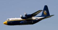 C-130 | 164763 | LWR | 20060617 (Wally.H) Tags: lockheed l100 hercules c130 164763 unitedstatesmarines blueangels fatalbert lwr ehlw leeuwarden airport