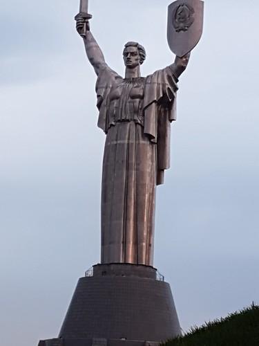 Motherland Monument (weird side)