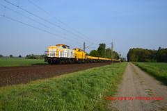SGL V180.05 + V180.08 (Phil.Kn.) Tags: lew v100 293 sgl bauzug eisenbahn