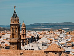 Antequera (lauracastillo5) Tags: city cityscape landscape blue sky urban buildings architecture landscapes old town sunset beautiful street