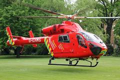 London's Air Ambulance in Chelsea (kertappa) Tags: img8128 air ambulance londons london hems doctor paramedics hospital gehms emergency helicopter kertappa chelsea