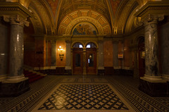 State Opera House Lobby 2 (rschnaible) Tags: budapest hungary europe building architecture sightseeing state opera house indoors low light