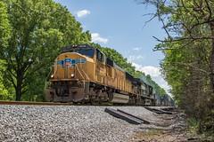 High Sun 70 (travisnewman100) Tags: csx union pacific norfolk southern up ns train railroad emd ge c449w sd70m q154 wa subdivision cartersville georgia atlanta division rr