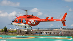 PK-ZGJ - Air Bali - Bell 206L Longranger (bcavpics) Tags: pkzgj airbali bell 206l longranger aviation aircraft helicopter chopper heli benoa bali indonesia bcpics