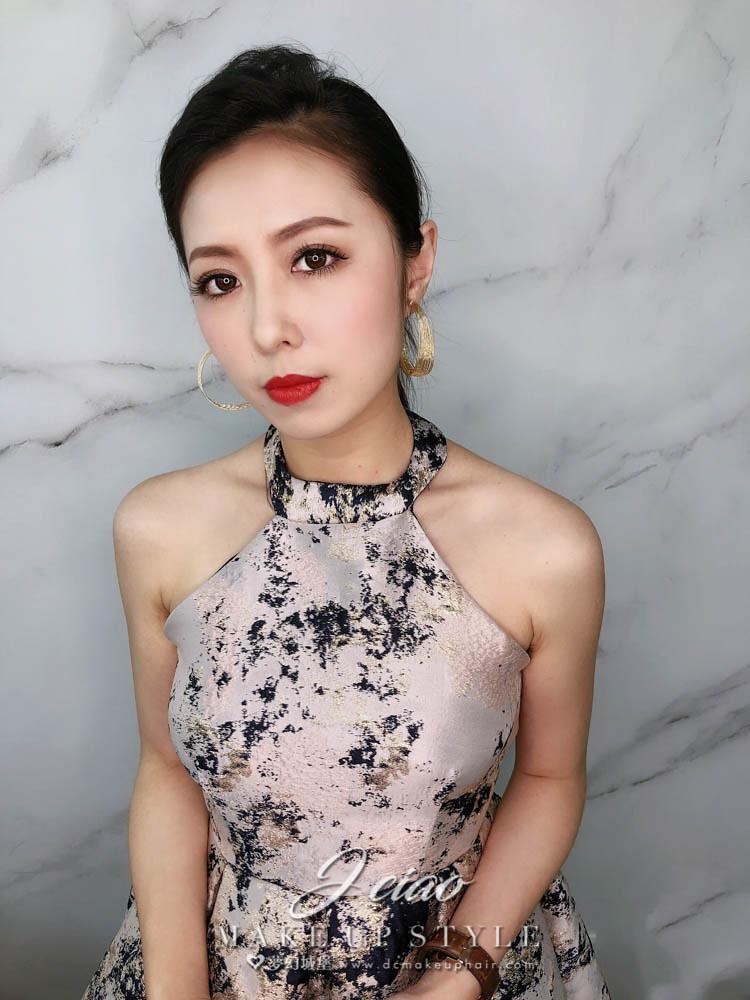 【新秘婕喬】新娘造型創作 / 時尚俐落馬尾