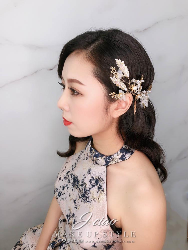 【新秘婕喬】新娘造型創作 / 歐式水波紋造型