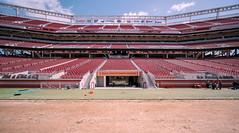 49er's 50 Yard Line, Levi's Stadium (bior) Tags: 49ers sanfrancisco49ers levisstadium football stadium santaclarastadium 50yardline fujifilmxt3 venuslaowa9mm venuslaowa santaclara bayarea sanfranciscobayarea laowa