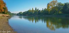 Waikato river (rogsykes) Tags: beautyofwater waikato river hamilton reflection autum sonya77ii ndfilter