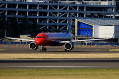 Red To Blue (planephotoman) Tags: airbus a321 a322 a321200 a321253n neo n927va moretolove virginamerica alaskaairlines merger airline airliner pdxaircraft portlandinternationalairport pdx kpdx