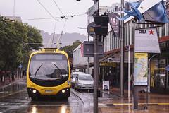 Manners Street - Wellington (andrewsurgenor) Tags: bus transport trolleybuses trolleybus transit trackless omnibus obus nz newzealand nzbus gowellington wellington
