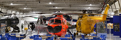 RAF Helicopters (Bri_J) Tags: rafmuseum hendon london uk museum airmuseum aviationmuseum nikon d7500 aircraft raf helicopter panorama whirlwind sycamore cierva belvedere coldwar