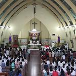 La reliquia del cuore di San Camillo de Lellis in Indonesia